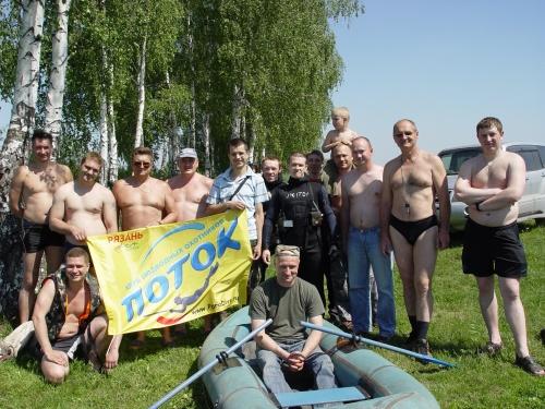 Май 2010 года. Международный день очистки водоёмов в Житово