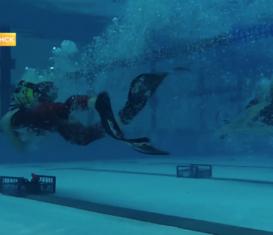 Всероссийский турнир по подводному спорту в Саранске