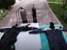 Обнаружение  проблемы и ремонт гидрокостюма