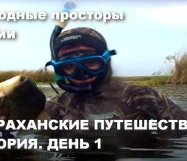 Подводная охота в Астрахани на карася