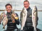 Подводная охота с двумя чемпионами Великобритании