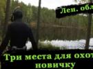 Места для подводной охоты в Ленинградской области для начинающих