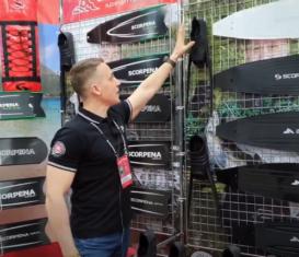 Обзор ласт SCORPENA F1 — X3 с выставки Moscow Dive Show 2021